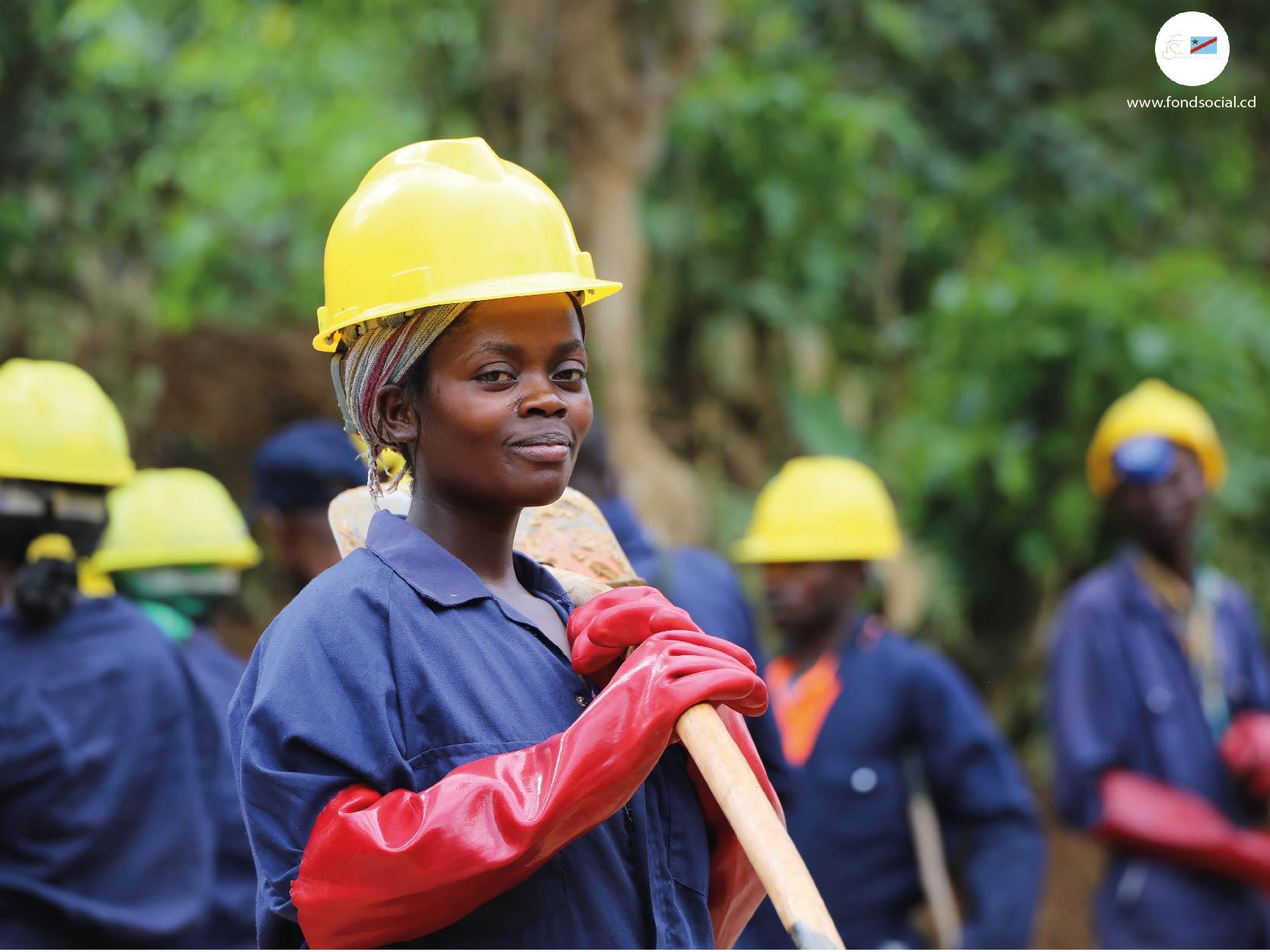 images BÉNI: Grâce  au projet STEP,  Odette  KATUNGU en voie de devenir  productrice  de Cacao
